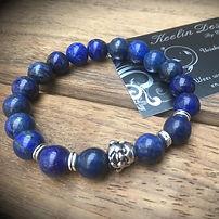 Lapis Lazuli kralenarmband met Buddha.