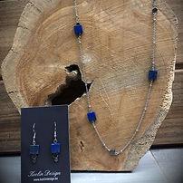 Sieradenset met Lapis Lazuli.