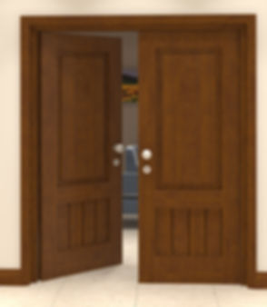 top panel bottom vertical door