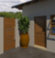 2 panel stable door and garden gate
