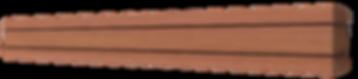 Exposed slider pelmet