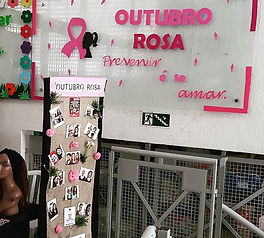 Outubro Rosa no Colégio Adventista de Ci