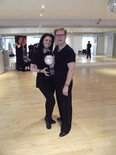 Strictly pro Karen Hardy dances with Jack Murphy
