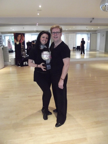 Strictly pro Karen Hardy dances with Jack Murphy
