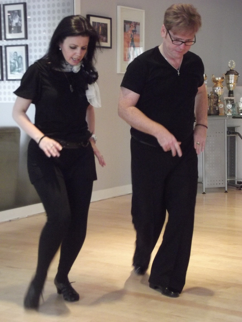 Learn to dance in London with Jack Murphy (shown here with Karen Brady)