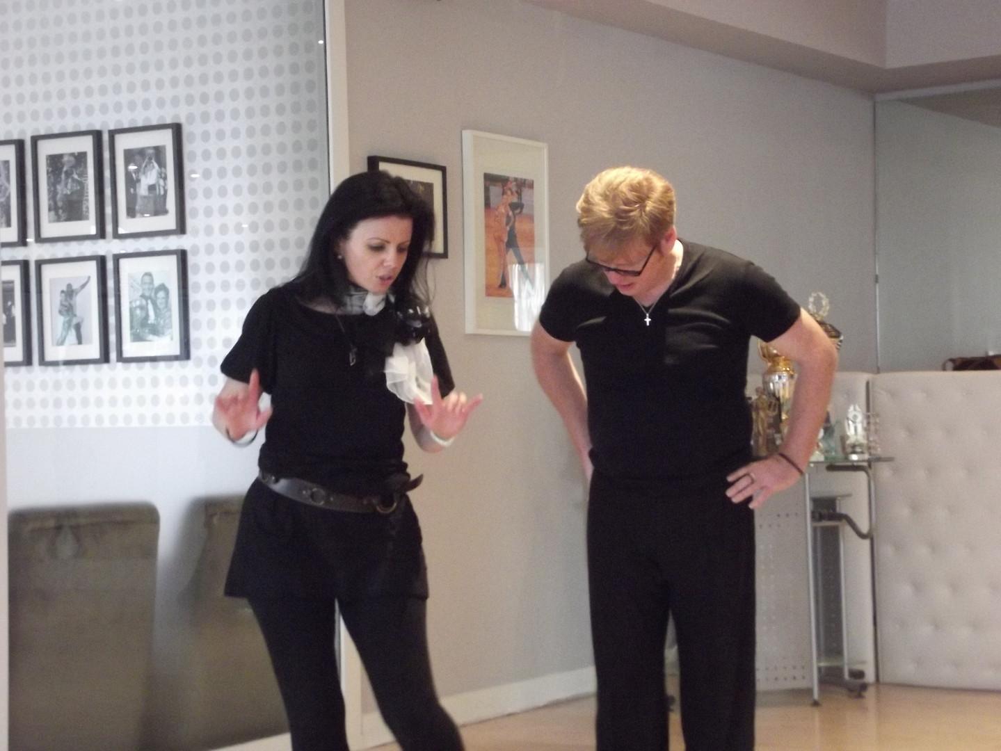 Jive Waltz Cha-Cha Karen Brady and Jack Murphy
