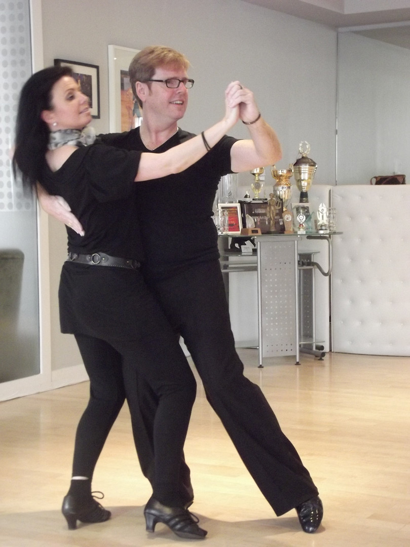 Strictly's Karen with Jack Murphy in London