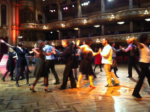 learn to couples dance at tea dances in London