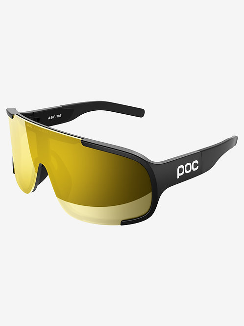 POC Aspire CLARITY Sunglasses - URANIUM BLACK/VIOLET GOLD MIRROR