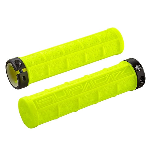 Supacaz Grizips Neon Yellow
