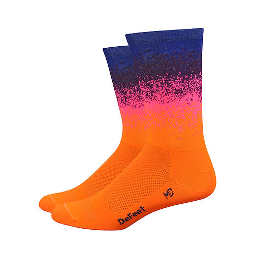 "Defeet Barnstormer 6"" Ombre (Hi-Vis Orange/Navy)"