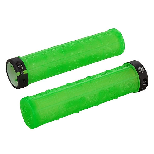 Supacaz Grizips Neon Green Clear