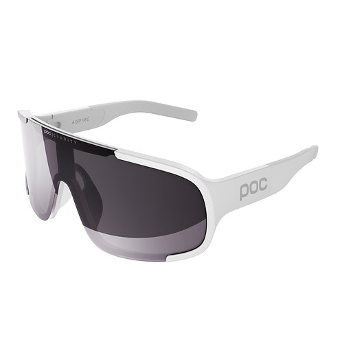 POC Aspire CLARITY Sunglasses - Hydrogen White / Violet Silver Mirror