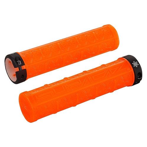 Supacaz Grizips Neon Orange Clear