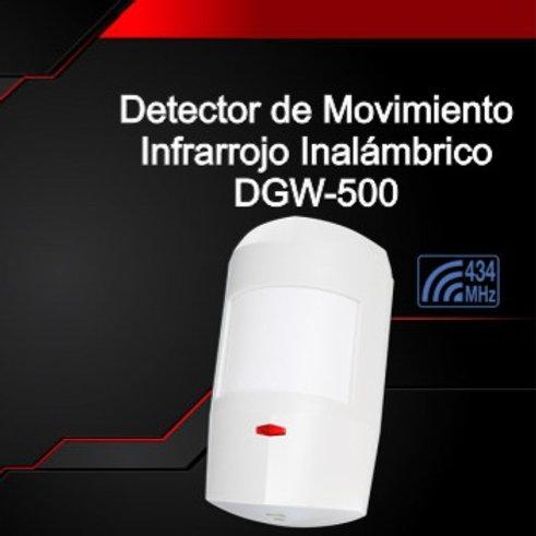Detector de Movimiento Infrarrojo Inalámbrico DGW-500
