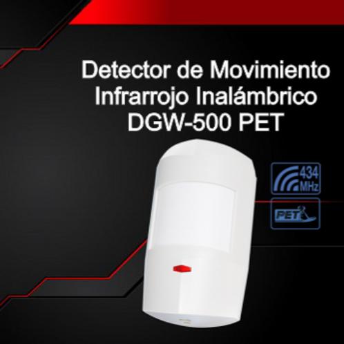 Detector de Movimiento Infrarrojo Inalámbrico DGW-500 PET