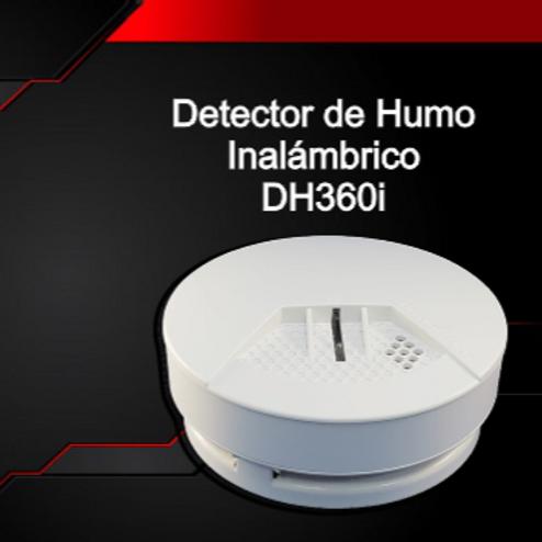 Detector de Humo Inalámbrico DH360i