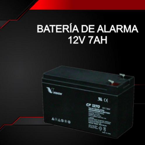 Batería de Alarma GEL 12V 7Ah
