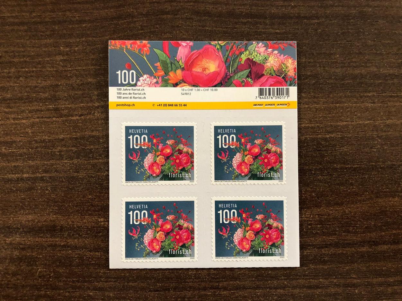 100 Jahre Florist 2020