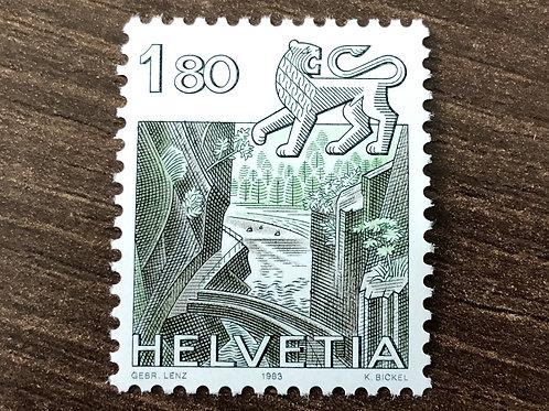 1.80 Briefmarke