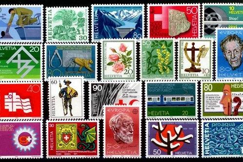 100 CHF Briefpost gemischt