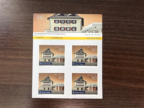 1.80 B Post Briefmarken im 10er Bogen