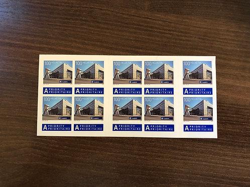 1.00 A Post Briefmarken im 10er Bogen
