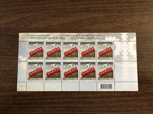 1.00 125 Jahre Pilatus Zahnradbahn