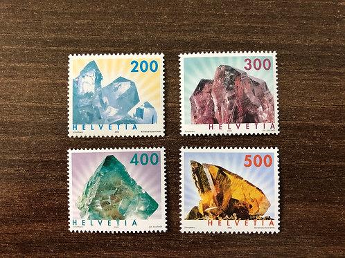 Dauermarken Mineralien
