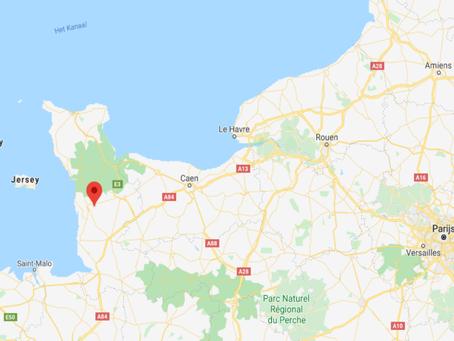 Courcy 50200 in La Manche, Normandië