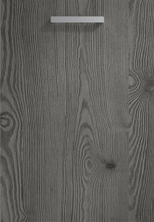 Linear Anthracite Mountain Larch Door
