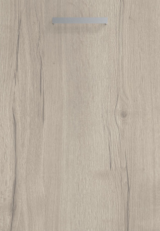 Linear White Halifax Oak Door