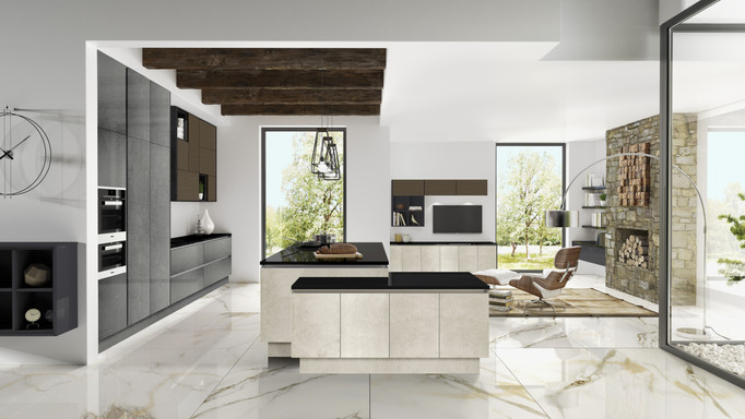 Pietra Stone Sand & Grey