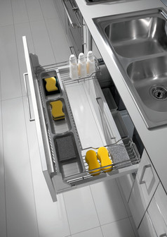 Dynamic Undersink Pull Out