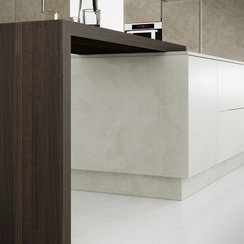 Beton Breakfast Bar Detail
