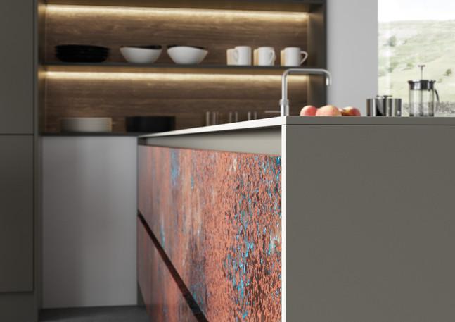 Ferro Oxidized Copper and Rezana Espresso