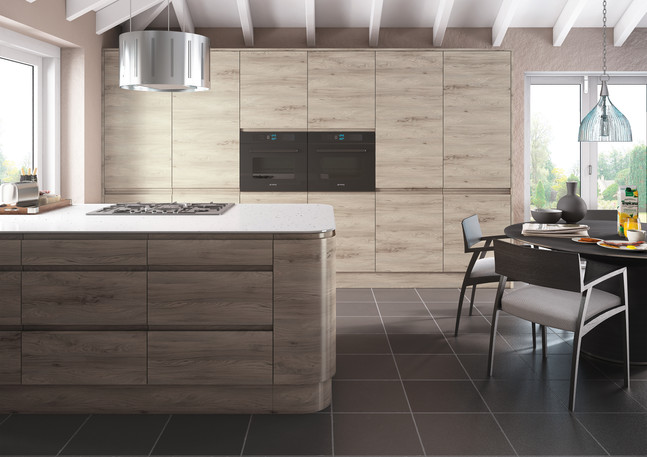 Malton Stone Elm Kitchen