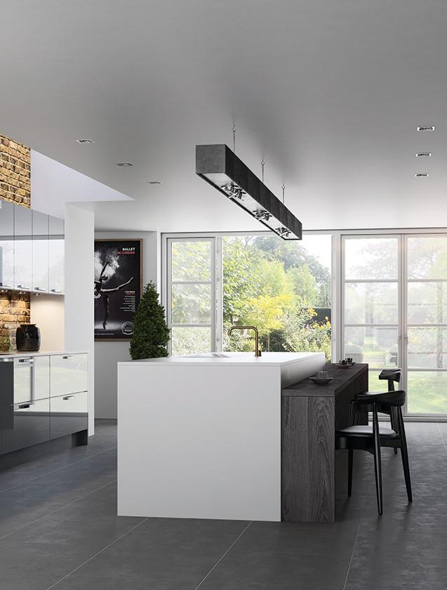 Zola Dust Grey Kitchen