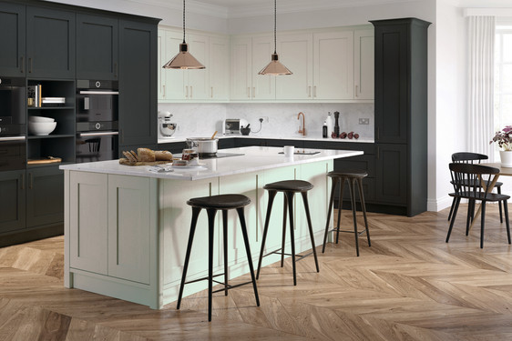 Hadley Dove Grey and Graphite Kitchen Sm