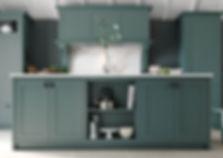 Aldana Solid Wood Painted Shaker Kitchen