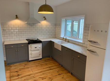 New Bespoke Solid Wood Kitchen Installation in Newton Abbot