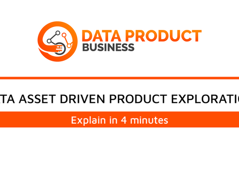 #4 Data Asset Driven Product Exploration Process under 4 minutes