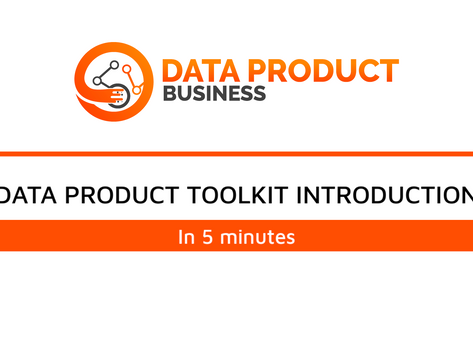 #3 Five minute Introduction to Data Product Toolkit™