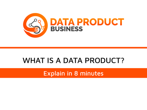 #2 Explain Data Product in 8 Minutes with practical examples