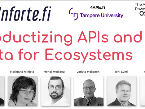 Productizing APIs and Data for Ecosystems - Mar 24