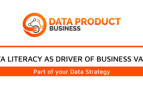 #20 DATA LITERACY AS DRIVER OF BUSINESS VALUE