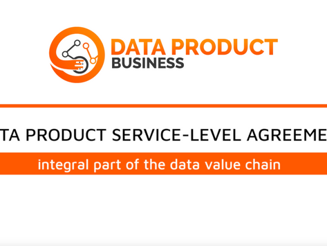 #9 Data Product SLA - an integral part of the data value chain