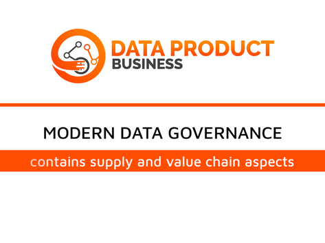 #13 Modern data governance contains supply and value chain aspects