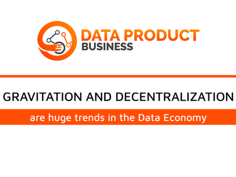 #25 Data Gravitation and decentralization
