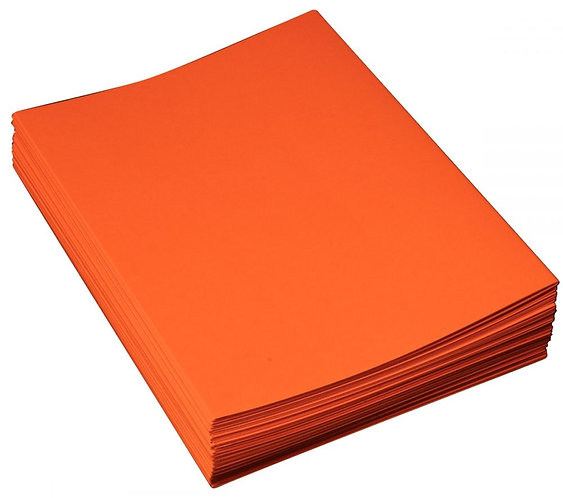 Paquet de 100 chemises 210g gamme SUPER orange